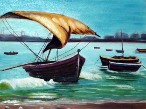 Boats at Beach (Barcos na Praia)