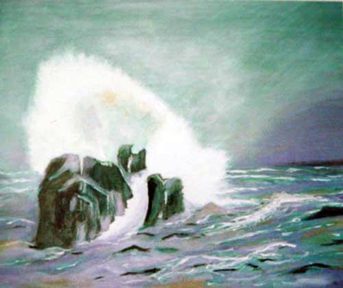 Crashing Waves (Splach na rocha)