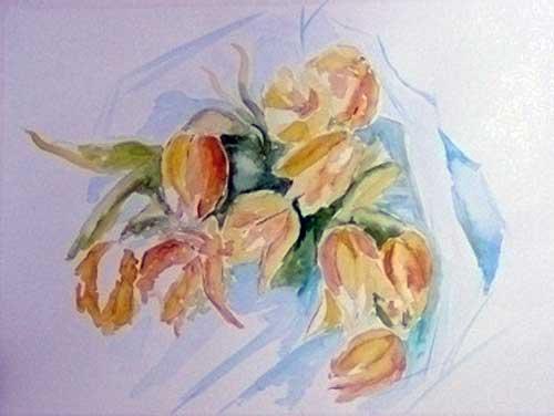 Yellow Tulips (Tulipas  Amarelas)