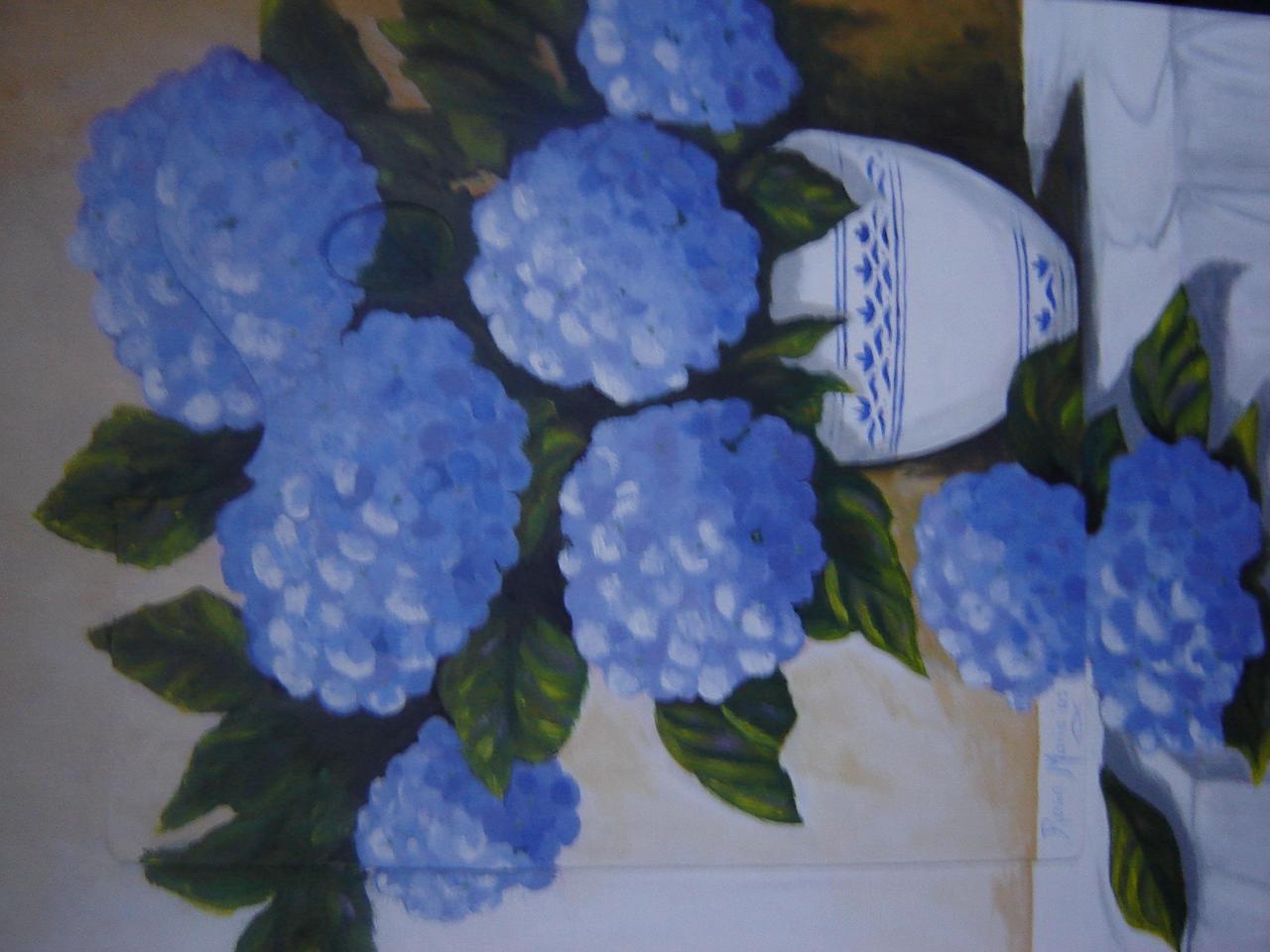 Hortenses na Paleta